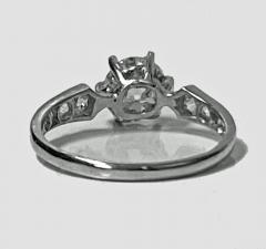 Antique Platinum Diamond Ring C 1910 - 1835455