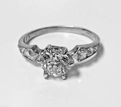 Antique Platinum Diamond Ring C 1910 - 1835457