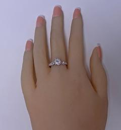 Antique Platinum Diamond Ring C 1910 - 1835458