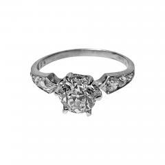 Antique Platinum Diamond Ring C 1910 - 1839927