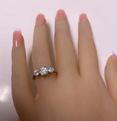 Antique Platinum Diamond Ring circa 1920 - 1819491