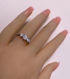 Antique Platinum Diamond Ring circa 1920 - 1819495