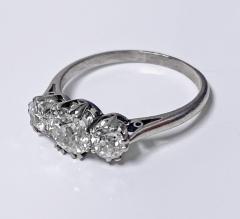 Antique Platinum Diamond Ring circa 1920 - 1819496