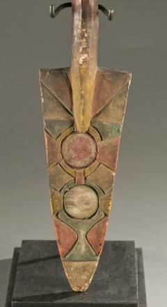 Antique Polychrome Wood Carving Igbo Nigeria - 1231417