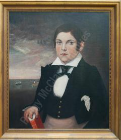Antique Portrait of Young Mariner - 1392536