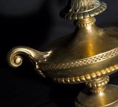 Antique Regency Style Gilt Bronze Table Lamp - 1214629