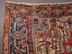 Antique Room Size Heriz Rug w Serapi Colors circa 1910 8 75 x 11 3 - 1164882