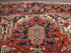 Antique Room Size Heriz Rug w Serapi Colors circa 1910 8 75 x 11 3 - 1164883