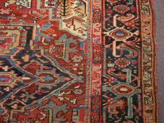 Antique Room Size Heriz Rug w Serapi Colors circa 1910 8 75 x 11 3 - 1164890