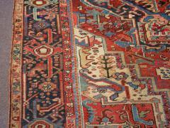 Antique Room Size Heriz Rug w Serapi Colors circa 1910 8 75 x 11 3 - 1164892