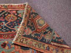 Antique Room Size Heriz Rug w Serapi Colors circa 1910 8 75 x 11 3 - 1164901