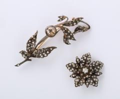 Antique Rose Diamond Brooch - 1534976