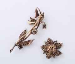 Antique Rose Diamond Brooch - 1534977