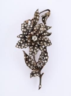 Antique Rose Diamond Brooch - 1534979