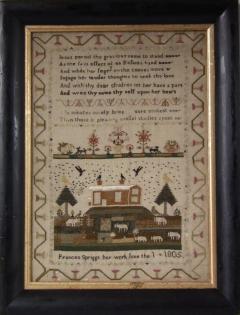 Antique Sampler 1805 by Frances Spriggs - 1745895