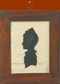 Antique Silhouette Woman - 1392569