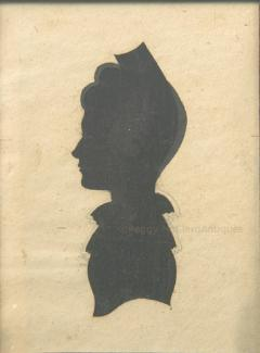 Antique Silhouette Woman - 1392571