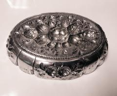 Antique Silver Fruit Dish Germany C 1880  - 1220381