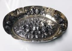 Antique Silver Fruit Dish Germany C 1880  - 1220383