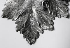 Antique Silver Madeira Wine Label London 1830 Reily Storer - 1793301