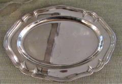Antique Silver Plated Asparagus Serving Set - 1178640