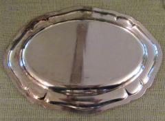 Antique Silver Plated Asparagus Serving Set - 1178647