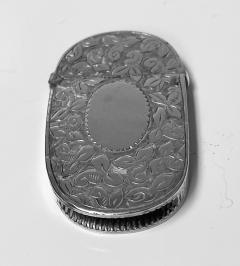 Antique Silver Vesta Birmingham 1893 Rolason Bros - 1925356