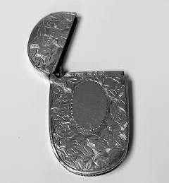 Antique Silver Vesta Birmingham 1893 Rolason Bros - 1925357