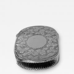 Antique Silver Vesta Birmingham 1893 Rolason Bros - 1927043