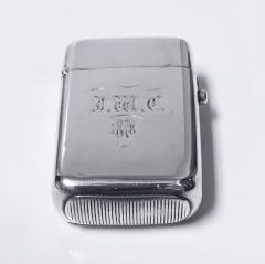 Antique Silver Vesta Match Case London 1876 William Summers - 1925351