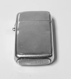 Antique Silver Vesta Match Case London 1876 William Summers - 1925352