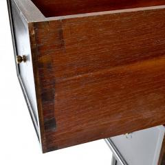 Antique Spanish Walnut Roll Slide Top Desk - 163857