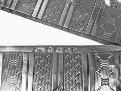 Antique Sterling Silver Card Case Birmingham 1866 Hilliard and Thomason - 1676703