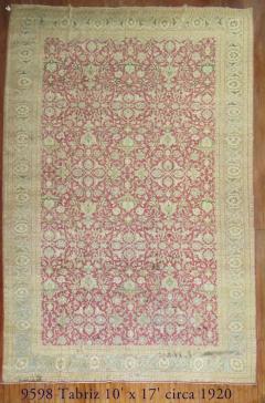 Antique Tabriz Rug - 863101