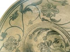 Antique Thai Celadon Stemmed Dish Sukhothai Sawankhalok - 1097280