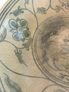 Antique Thai Celadon Stemmed Dish Sukhothai Sawankhalok - 1097281