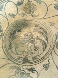 Antique Thai Celadon Stemmed Dish Sukhothai Sawankhalok - 1097282