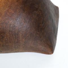 Antique Tribal Art Hand Carved Patinated African Wood Bowl Turkana KENYA - 1984658