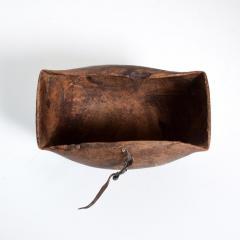 Antique Tribal Art Hand Carved Patinated African Wood Bowl Turkana KENYA - 1984662