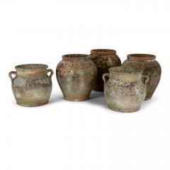 Antique Urn Shape Terracotta Pot - 2117635