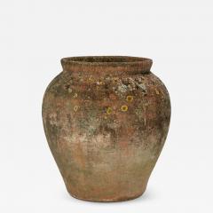 Antique Urn Shape Terracotta Pot - 2131997