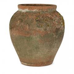 Antique Urn Shape Terracotta Pot - 2117645