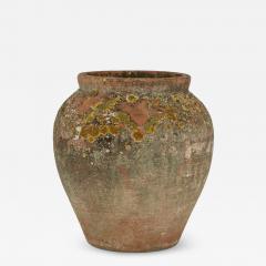 Antique Urn Shape Terracotta Pot - 2131996