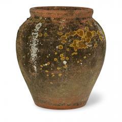 Antique Urn Shape Terracotta Pot - 2117662