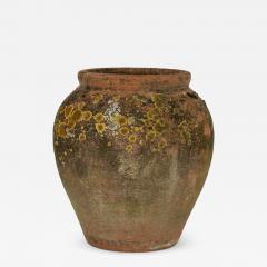 Antique Urn Shape Terracotta Pot - 2131995