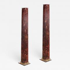Antique Victorian San Francisco Columns A Pair - 2068786