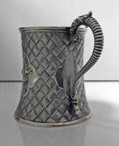 Antique Victorian Silver Mug London 1863 by Robert Harper - 363182