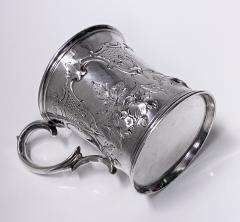 Antique Victorian Silver Mug London 1872 Edward Ker Reid - 2140193