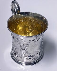 Antique Victorian Silver Mug London 1872 Edward Ker Reid - 2140197