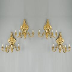 Antique bronze wall lights - 772476